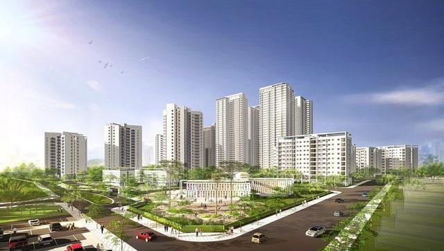 Hồng Hà Eco City được dự báo là tâm điểm thị trường bất động sản dịp cuối năm 2017