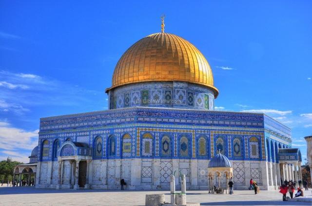 Đền thờ Mái vòm Dome of Rock (Ảnh: Biblewalks)