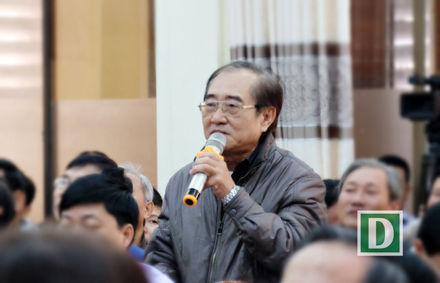 Cử tri Bùi Văn Trực cho rằng đối với trường hợp ông Huỳnh Đức Thơ, không nên kết luận vội vàng về các sai phạm, hậu quả khi chưa có đủ căn cứ.