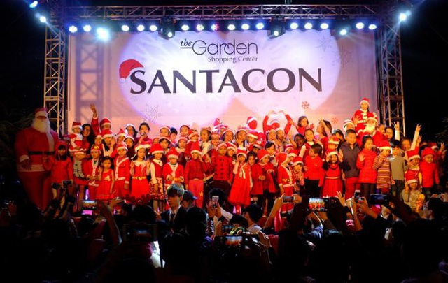 Lễ hội ông già Noel – SantaCon.