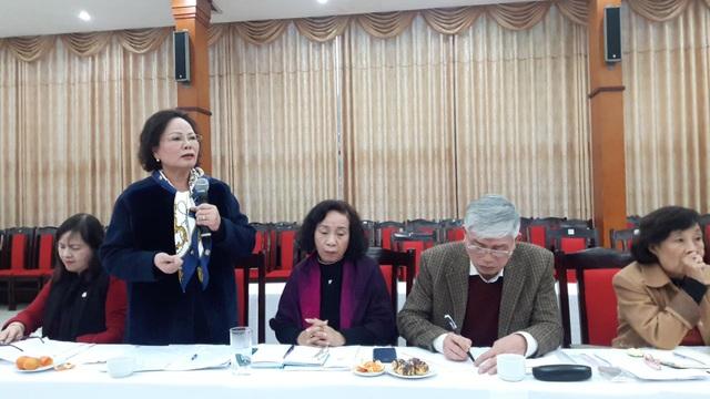 Bà Nguyễn Thị Kim Hải, Chủ tịch Hội khuyến học Phú Thọ
