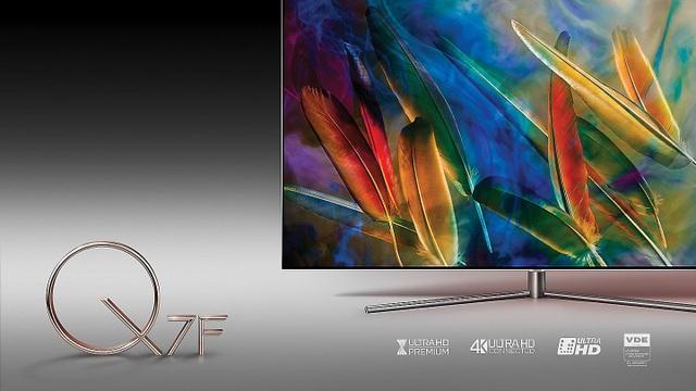 Các chứng chỉ danh tiếng mà Samsung SmartTV có được minh chứng cho chất lượng hình ảnh cao cấp.
