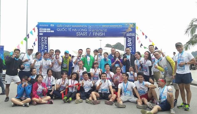 Vừa qua, rất nhiều quản lý của Topica đã hoàn thành giải chạy Marathon quốc tế Hạ Long 2016.