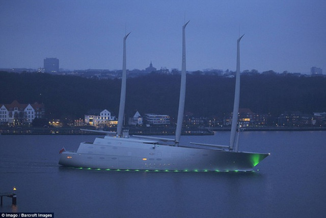 Chiêm ngưỡng siêu du thuyền 450 triệu USD của tỉ phú Nga - 4