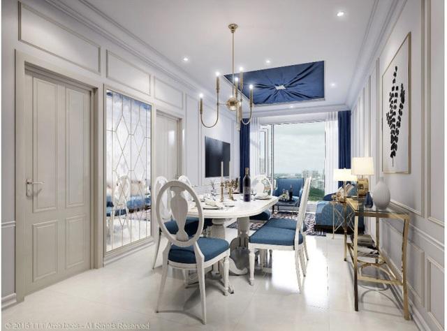 Căn hộ mẫu 3 phòng ngủ Dự án Artemis bàn giao đầy đủ nội thất