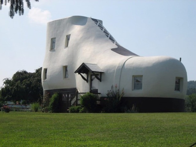 Nhà hình chiếc giày ở Mỹ được xây dựng từ năm 1948.