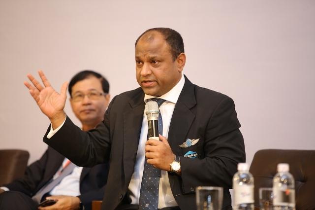 Ông Ismail Gafoor, CEO của Tập đoàn P&N Holdings, công ty mẹ của PropNex, một công ty môi giới BĐS lớn nhất Singapore với hơn 6.000 nhân viên