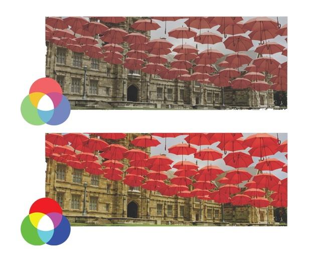 TV QLED có khả năng tái tạo màu sắc chính xác vượt trội hơn hẳn so với TV LED thông thường.