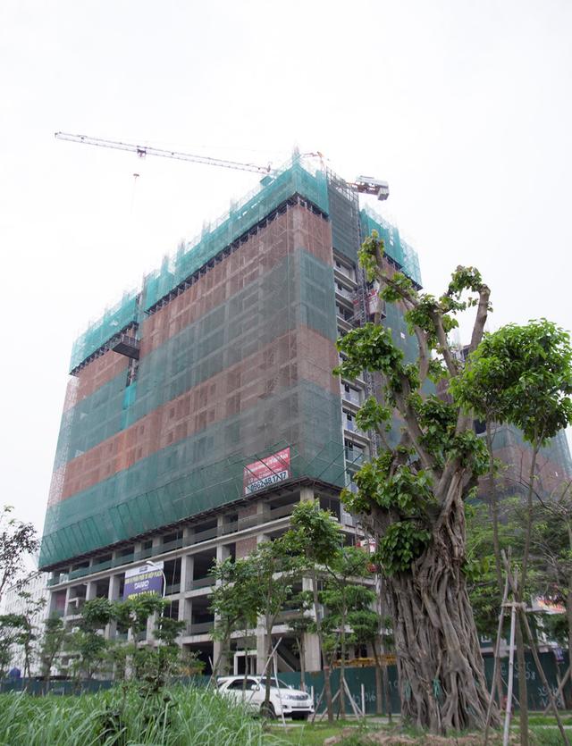 Tứ Hiệp Plaza gồm 2 tòa tháp cao 32 tầng
