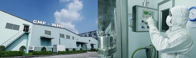Nhà máy Nam Dược đạt tiêu chuẩn thực hành tốt sản xuất thuốc GMP –WHO