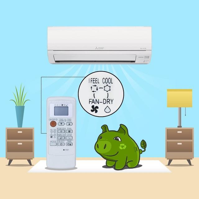 """Fuzzy Logic """"I feel"""" tự động lựa chọn nhiệt độ thích hợp mang lại cảm giác dễ chịu cho người dùng"""