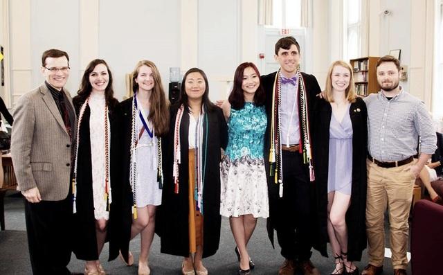 Phương Anh là sinh viên quốc tế duy nhất trong ngành Văn học Anh ở trường ĐH Mỹ.