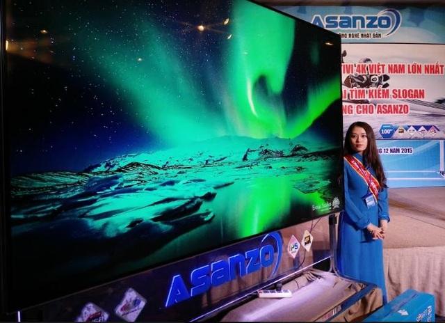 Tivi là dòng sản phẩm chủ đạo của Asanzo, chiếm 15% thị phần