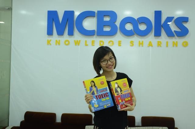 """""""Tuyệt chiêu"""" của cô Mai Phương do công ty cổ phần sách MCBooks phát hành đang rất hot trên thị trường sách tham khảoTiếng Anh luyện thi TOEIC"""