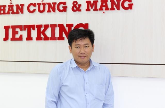 Tiến sĩ Nguyễn Thanh Dũng - Giám đốc đào tạo Học Viện Mạng & Phần cứng FPT Jetking.