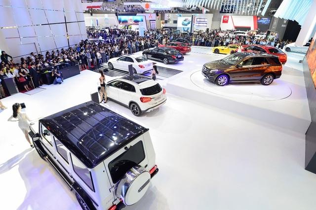 Ngoài ra, MBV sẽ giới thiệu một mẫu SUV mới tại triển lãm với nhiều nâng cấp đáng chú ý.