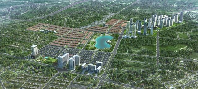 An Khang Villa tọa lạc tại vị trí đẹp nhất trong KĐT Dương Nội