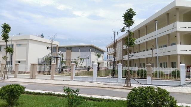 Trường THCS Lê Quý Đôn đã được Tập đoàn Nam Cường bàn giao vào tháng 5/2016