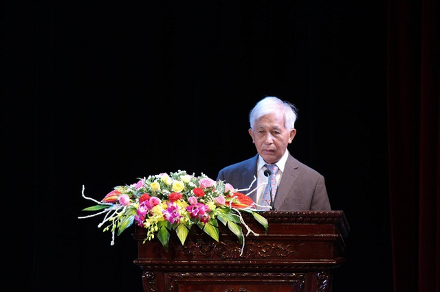 GS Trần Thanh Vân - người có nhiều đóng góp trong việc trao học bổng Vallet ở Việt Nam.