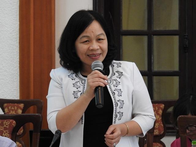 TS. Nguyễn Thị Mai Hoa (Ủy viên Thường trực UB Văn hóa, Giáo dục, Thanh thiếu niên và Nhi đồng của Quốc hội).
