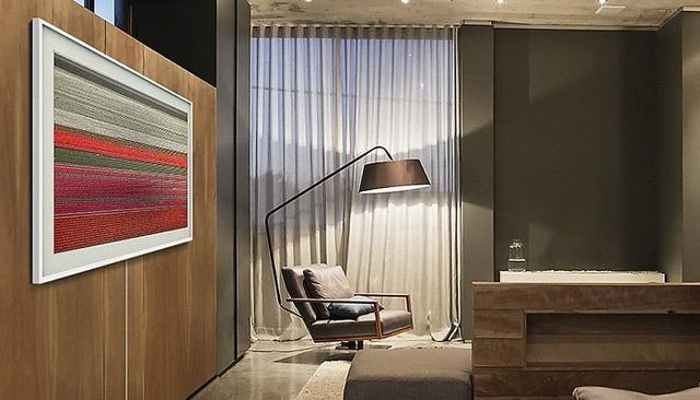 Một tuyệt tác TV đẹp ở mọi góc nhìn dù được treo ở bất kỳ vị trí nào và hài hòa với mọi không gian nội thất mà The Frame – TV Khung Tranh hiện diện