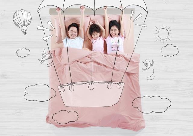 Giấc ngủ ngon sẽ tái tạo trọn vẹn năng lượng để cả gia đình bắt đầu ngày mới thật sảng khoái.