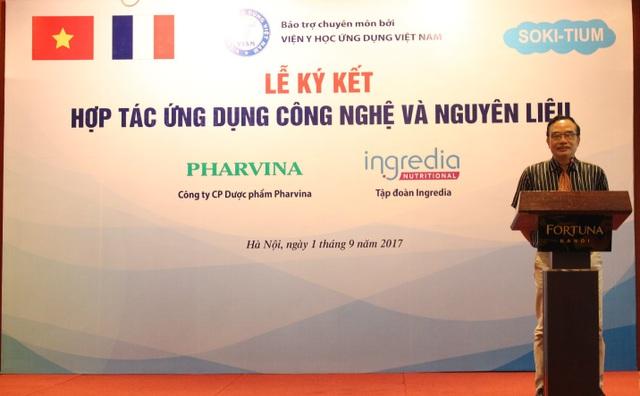 PGS. TS. Nguyễn Xuân Ninh, Phó viện trưởng - Viện Y học ứng dụng.