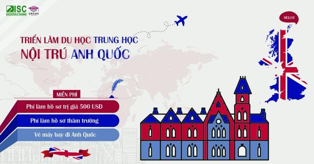 Trường trung học hàng đầu Anh Quốc Queen Ethelburga's tham gia Triển lãm Du học Trung học Nội trú tại Việt Nam - 4