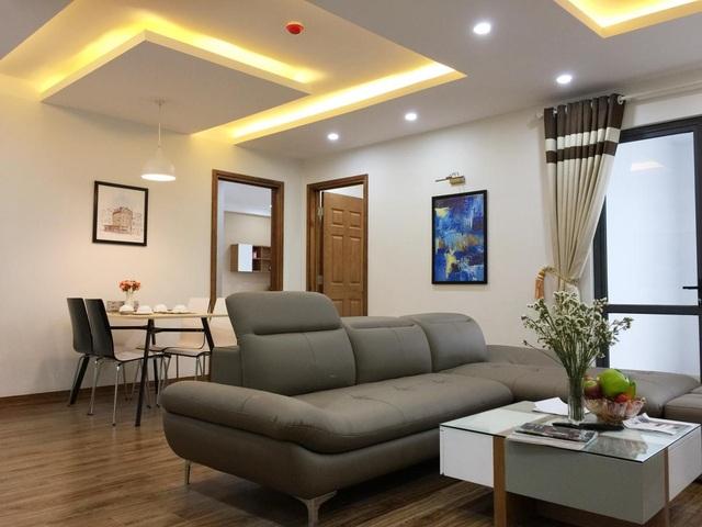Không gian căn hộ ấm cúng, yên tĩnh theo phong cách hiện đại