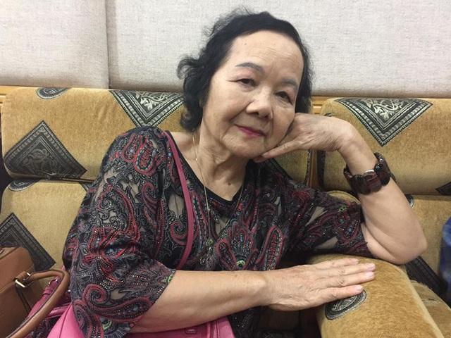 Nghệ sĩ Đức Lưu dù đã ở tuổi 80 nhưng vẫn đẹp. Ảnh: Bích Hạnh