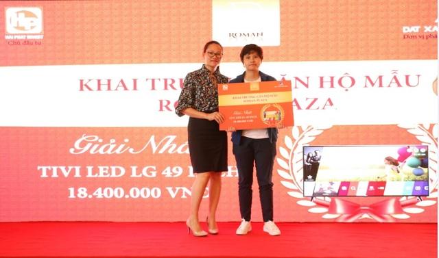 Giải thưởng Tivi Led LG trị giá 18.400.000Đ đã tìm được chủ nhân