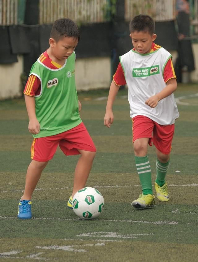 Festival Bóng đá học đường là sân chơi để các em được chơi môn thể thao mình yêu thích và nuôi dưỡng đam mê