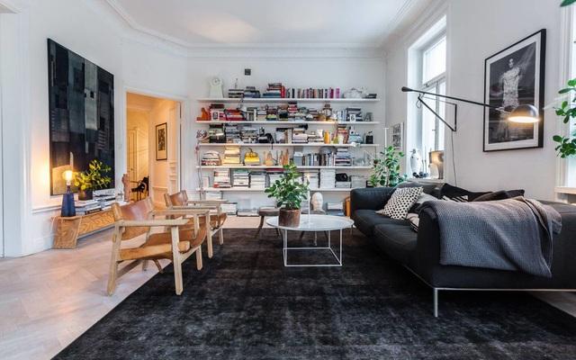 Phòng khách theo phong cách Scandinavian