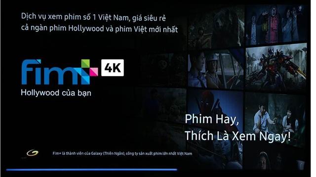 TV QLED sở hữu công nghệ và nội dung phim định dạng 4K duy nhất hiện nay