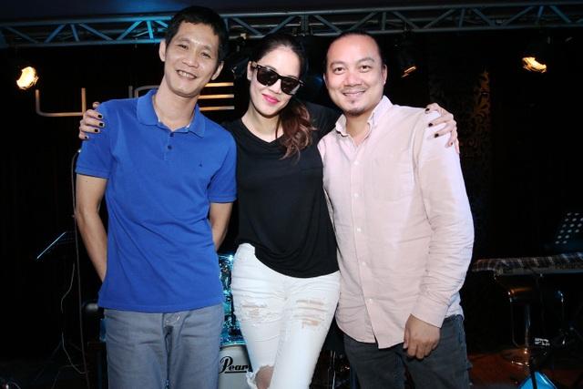 Thu Phương, Cẩm Vân, Lệ Quyên miệt mài tập luyện cùng nhạc sĩ Hoài Sa - 3