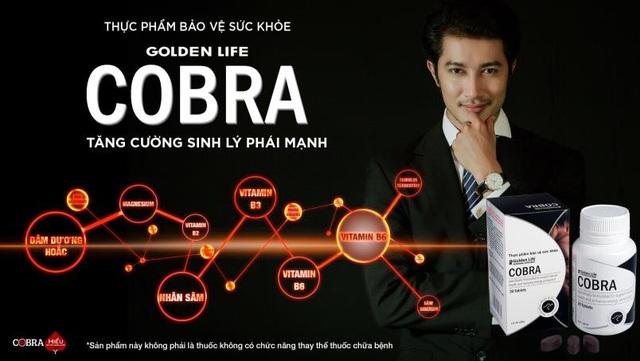 Cobra – Thực phẩm bảo vệ sức khỏe cho phái mạnh