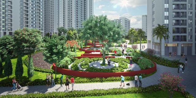 Công viên 6 giác quan ngay trung tâm dự án sẽ là trải nghiệm mới lạ & khác biệt cho cư dân