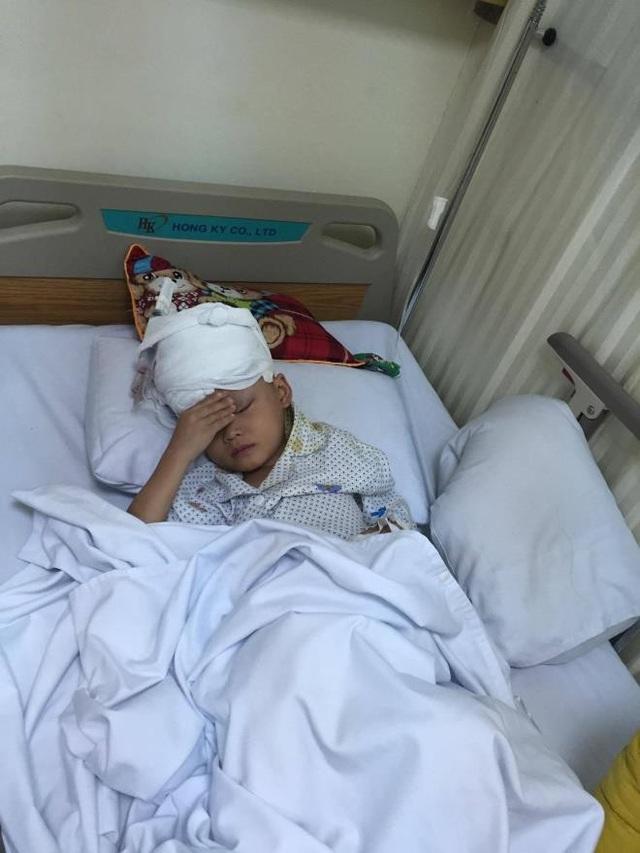 Hạo Nhiên sau khu thực hiện ca phẫu thuật