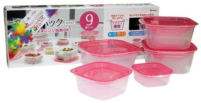 Bộ hộp đựng thực phẩm đa năng và an toàn nhập khẩu Nhật Bản sẽ là quà Tết 2018 cho khách hàng VIP của Co.opmart và Co.opXtra