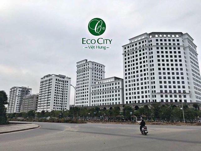 Eco City Long Biên tọa lạc tại lô góc rộng thoáng cùng công viên cây xanh đối diện