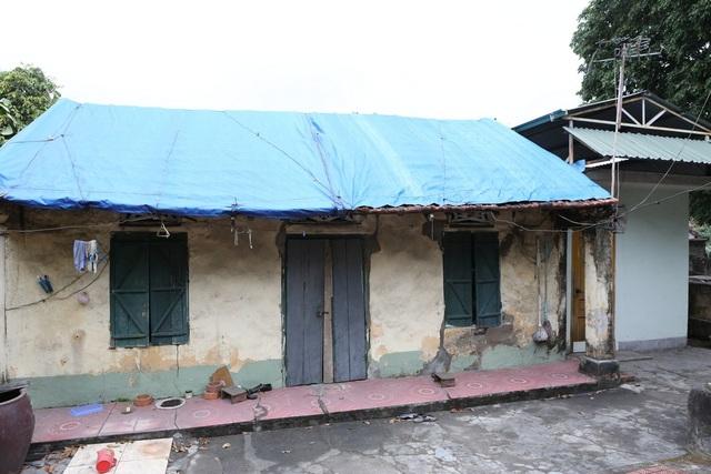 Nhà cửa xây cất trên đường lò cũ như này sẽ bị sụt nghiêm trọng.