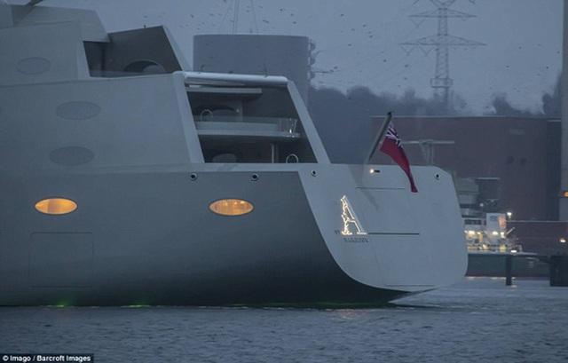 Chiêm ngưỡng siêu du thuyền 450 triệu USD của tỉ phú Nga - 5