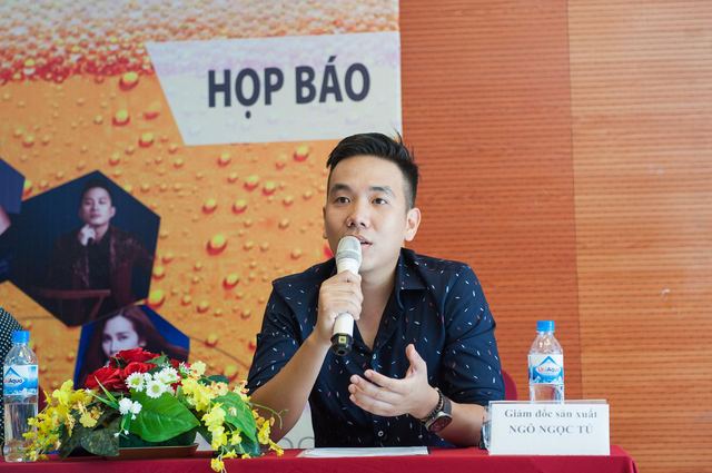 Ông Ngô Ngọc Tú, giám đốc sản xuất chương trình