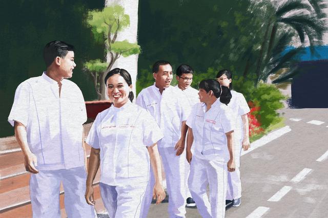 Với cán bộ công nhân viên của Acecook Việt Nam, mỗi ngày đi làm là một ngày hạnh phúc