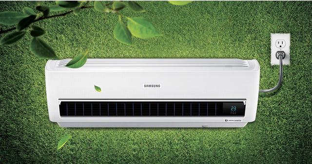 Máy điều hòa Samsung Digital Inverter máy nén 8 cực sẽ lựa chọn đúng đắn nhất của gia đình bạn trong mùa hè này