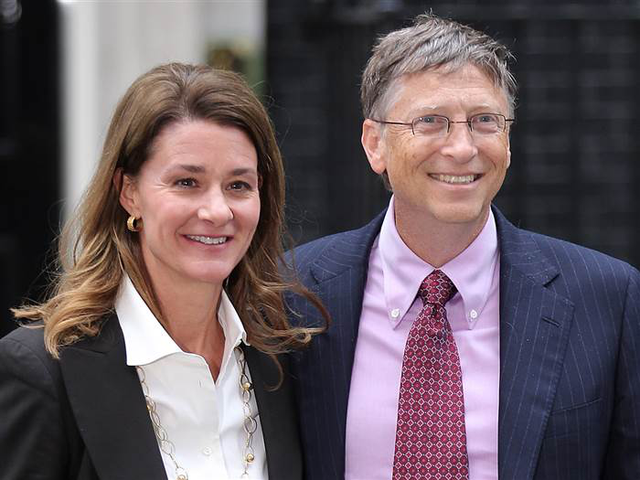 Bill Gates và vợ, bà Melinda Gates. (Ảnh: Getty Images)