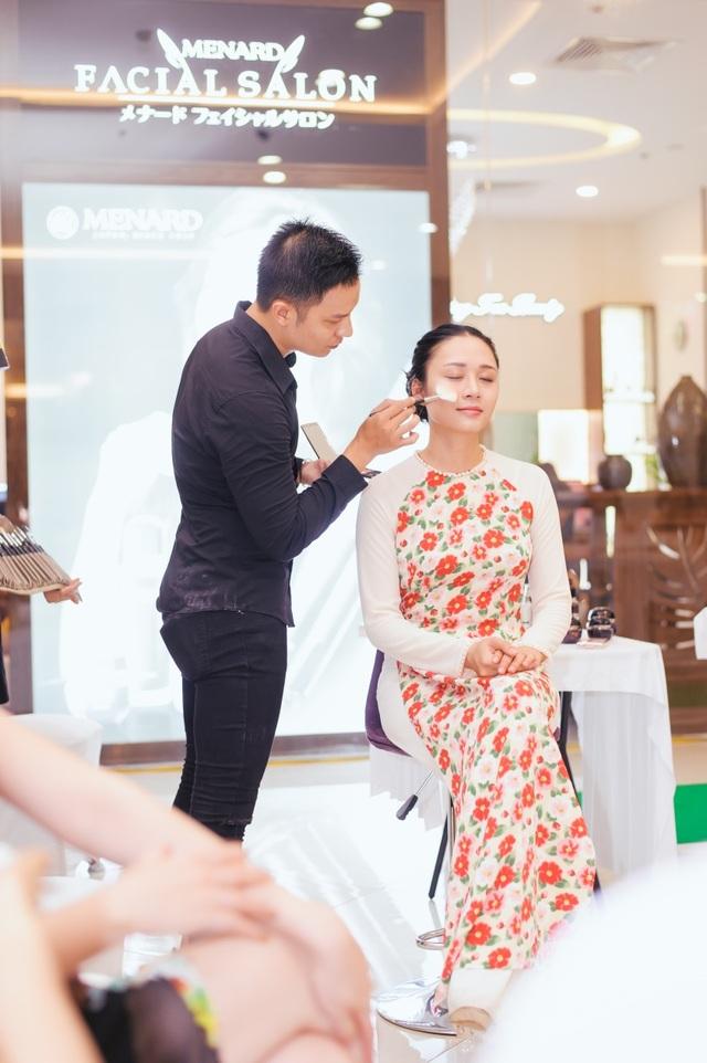 Chuyên gia trang điểm Menard giới thiệu phong cách trang điểm Nhật dành riêng cho áo dài