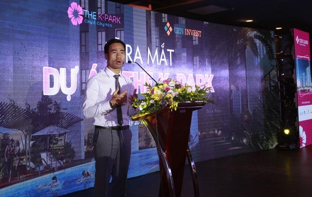 Đại diện đơn vị phân phối- Ông Lê Xuân Nga, chia sẻ cùng đông đảo khách hàng những điểm ưu việt khi mua căn hộ The K – Park. Đơn cử như: Công cụ check căn Online ngay tại http://nghemoigioi.vn/.