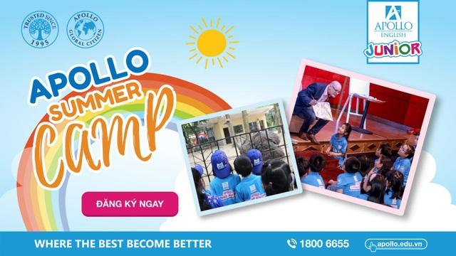 Apollo Summer Mini Camp là cơ hội tuyệt vời để con bạn phát triển tư duy ngôn ngữ và kĩ năng mềm.