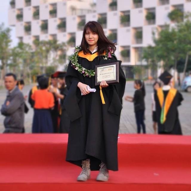 Khúc Xuân Thảo - thủ khoa tốt nghiệp FPT Arena Multimedia ở tuổi 17.